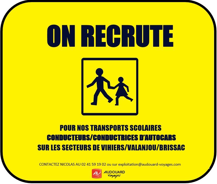 Recrutement AudouardVoyages